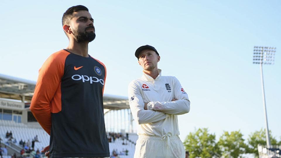 File images of India and England captains Virat Kohli and Joe Root.