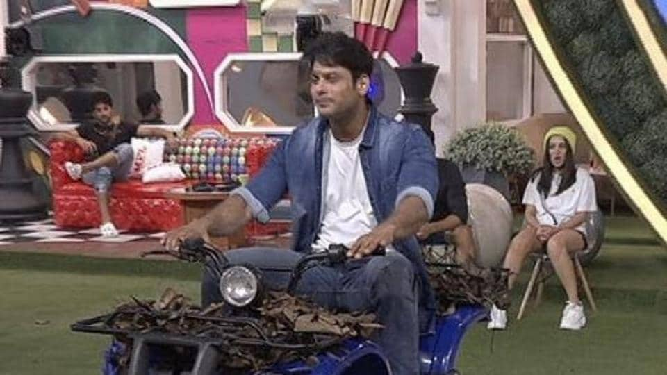 Sidharth Shukla in Bigg Boss 14.