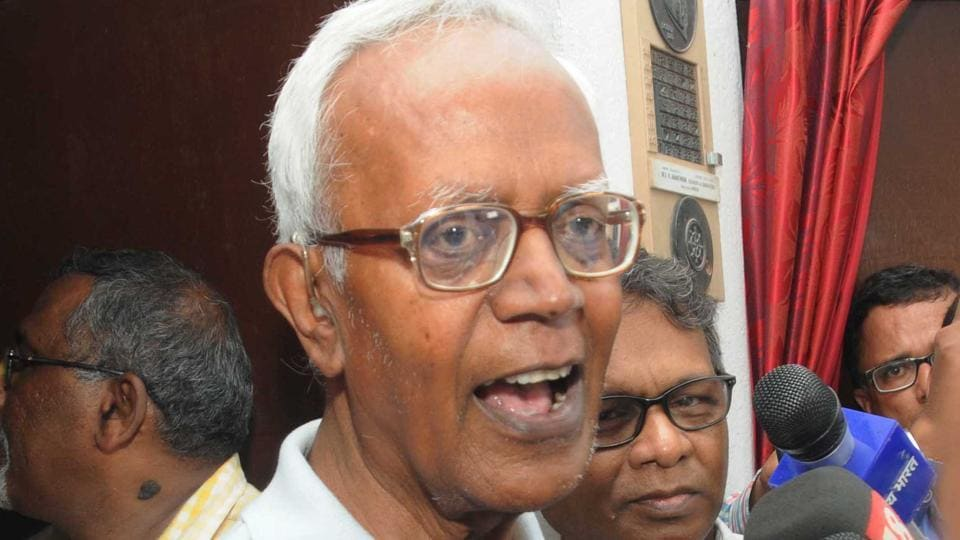 Human rights activist Stan Swamy was arrested on Friday