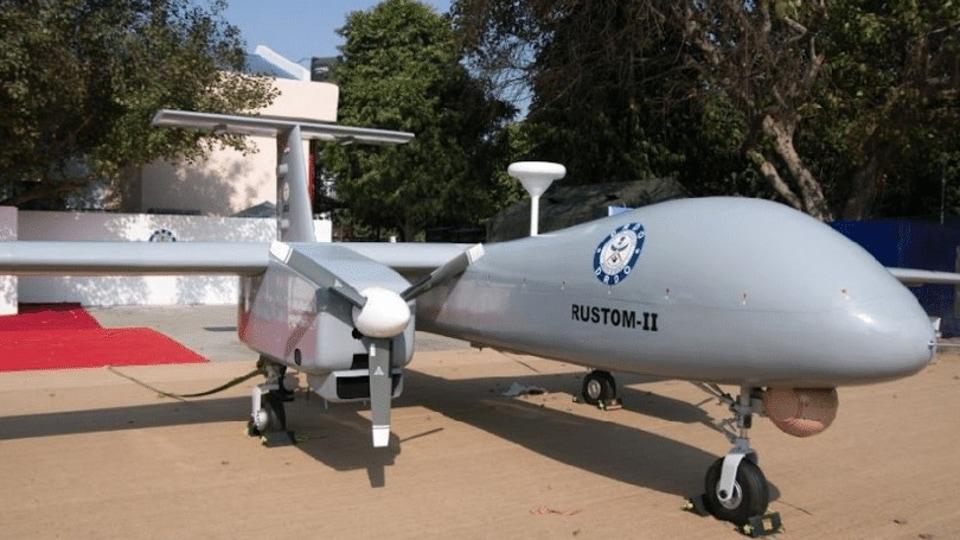 DRDO on Friday flight tested the Rustom-2 medium altitude long endurance indigenous prototype drone