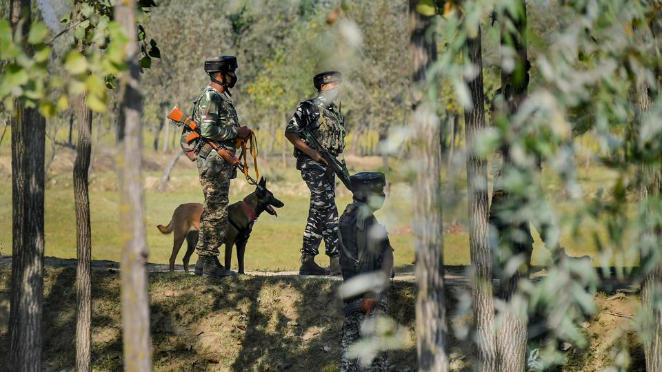 The suspected terrorists have been identified as Tariq Ahmad Mir, a resident of Divsar Kulgam, and Sameer Bhai Usman, a Pakistani national. Both are believed to be JeMoperatives.