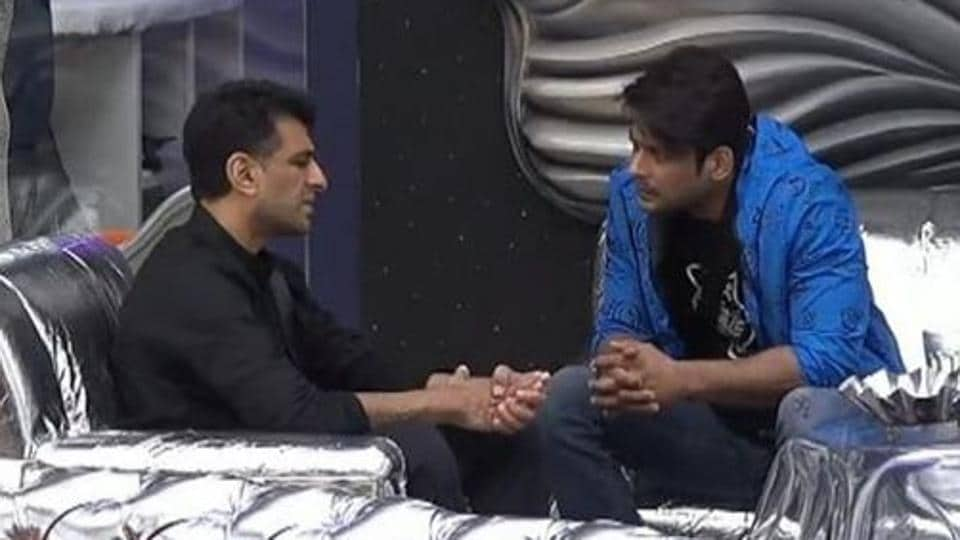 Bigg Boss 14: Eijaz Khan and Sidharth Shukla have a heart-to-heart.