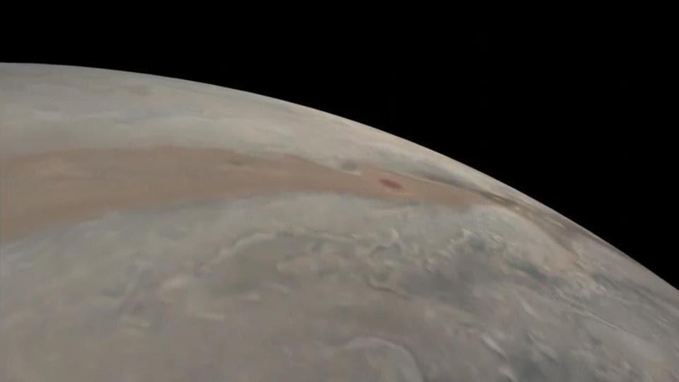 The image shows Jupiter.