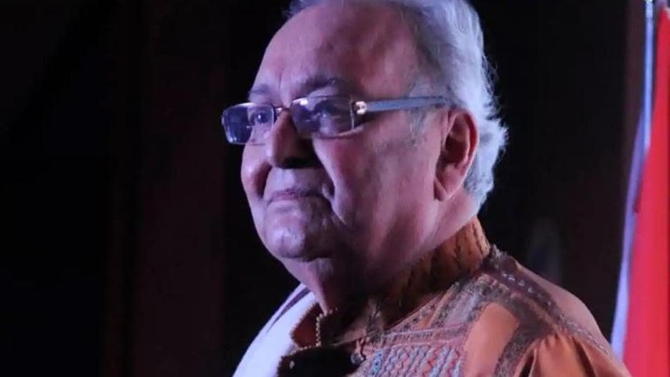 Soumitra Chatterjee was admitted to hospital on Tuesday.