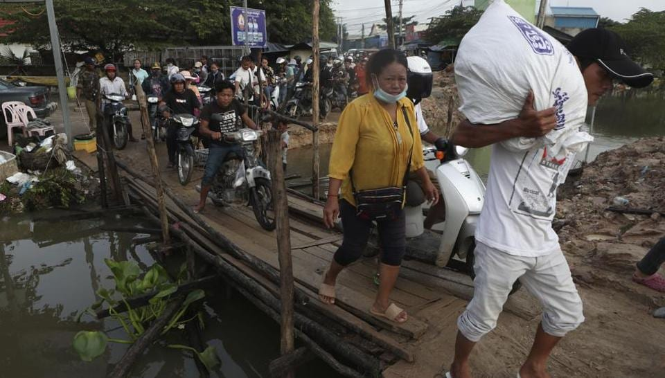 Flooding in Cambodia leaves at least 11 dead