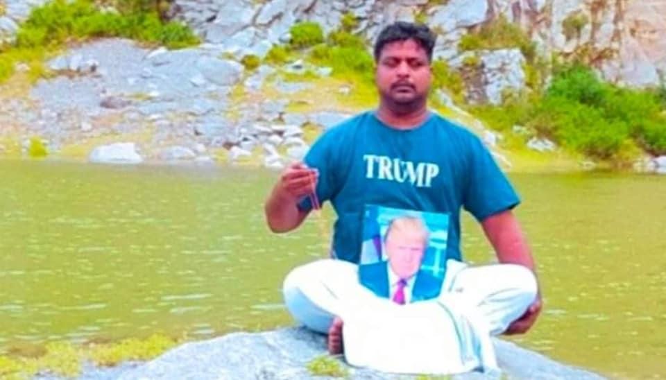 Telangana man who built Donald Trump's statue and worshipped him dies of heart attack - Hindustan Times