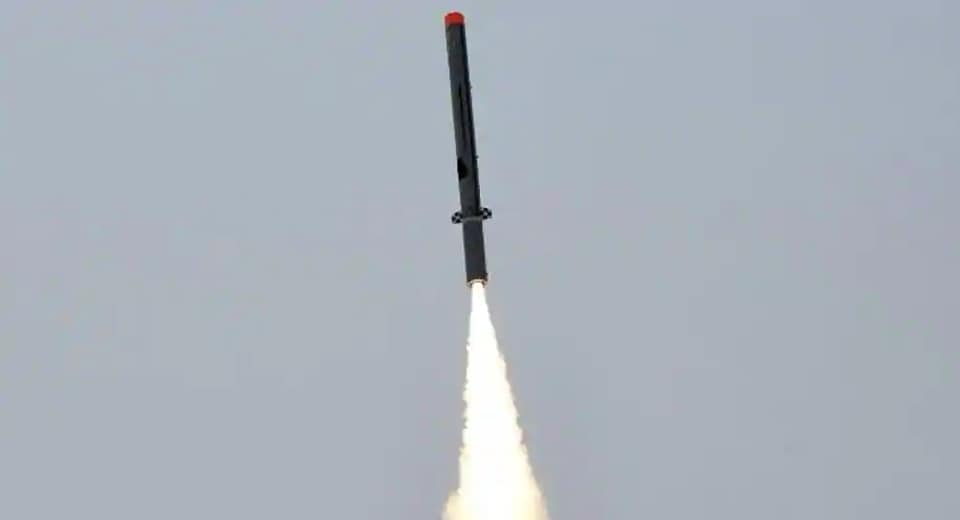 Nirbhay long-range, sub-sonic cruise missile roars off the launch pad in 2019