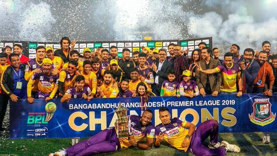 BPL 2019 champions Rajshahi Royals.