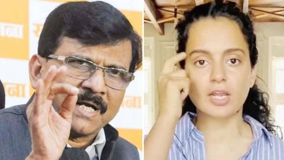 Kangana Ranut has taken another jibe at Sanjay Raut.