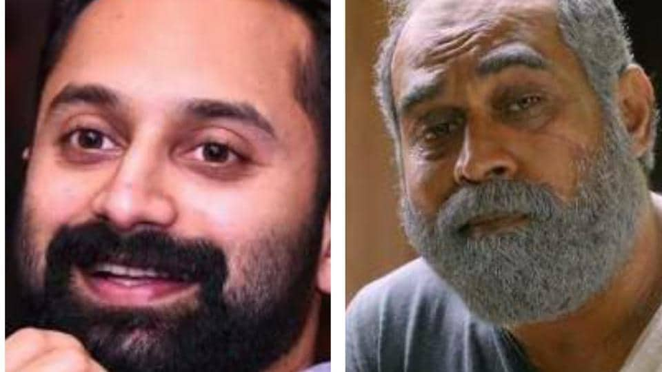 Actors Suraj Venjaramoodu  (right) and Fahadh Faasil and bagged the best actor and best character actor awards respectively.