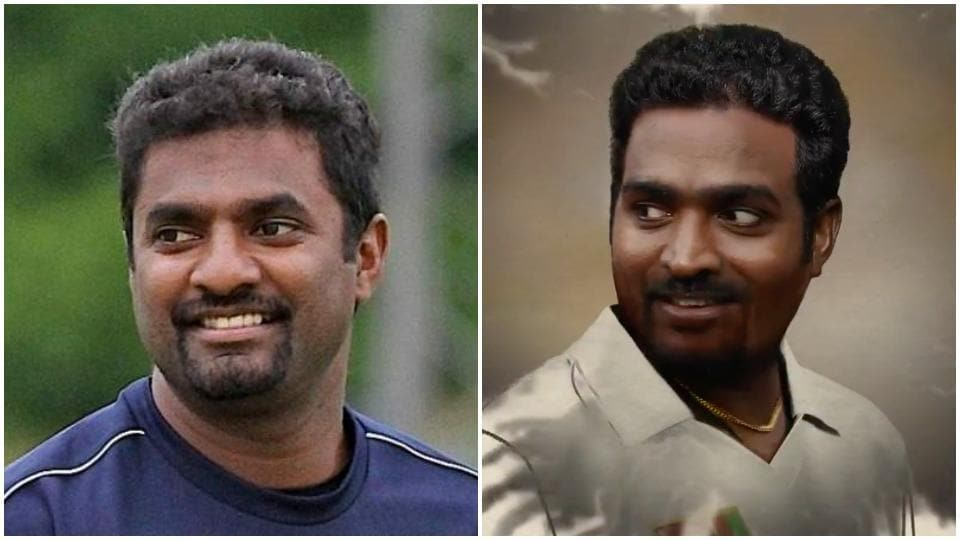 Vijay Sethupathi as Muttiah Muralitharan.
