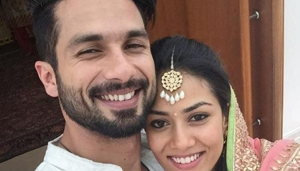 Shahid Kapoor and Mira Rajput married in 2015.