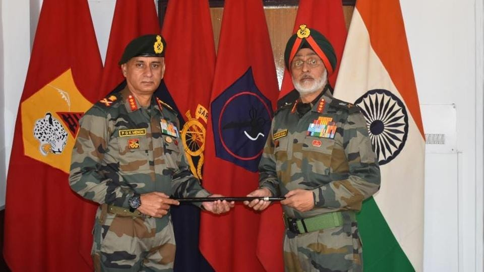Monday's dialogue was the last round of military talks to be led by Lieutenant General Harinder Singh, who on Tuesday handed over the charge of the Leh-based 14 Corps to Lieutenant General PGK Menon.