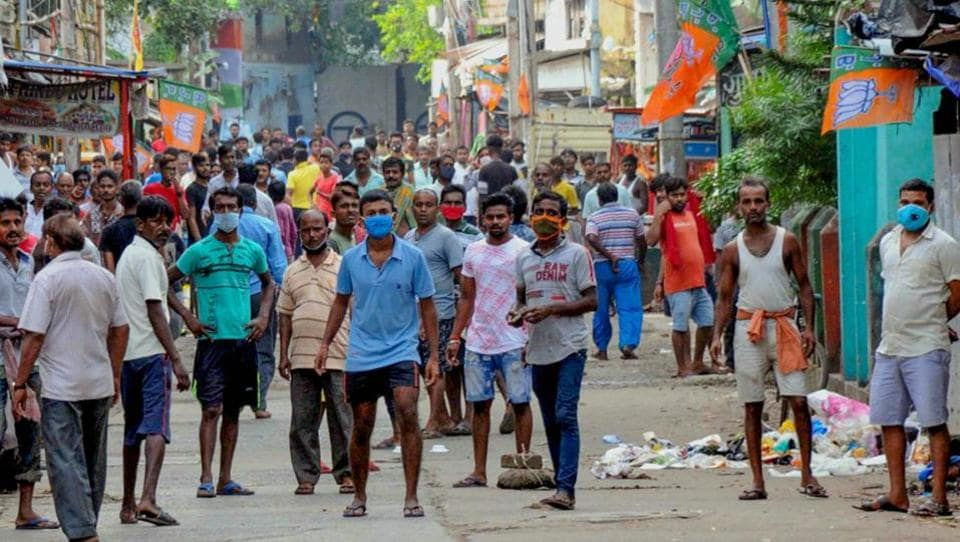 The BJP leader's murder has triggered political tension in the Barrackpore Lok Sabha constituency of which Titagarh is a part.