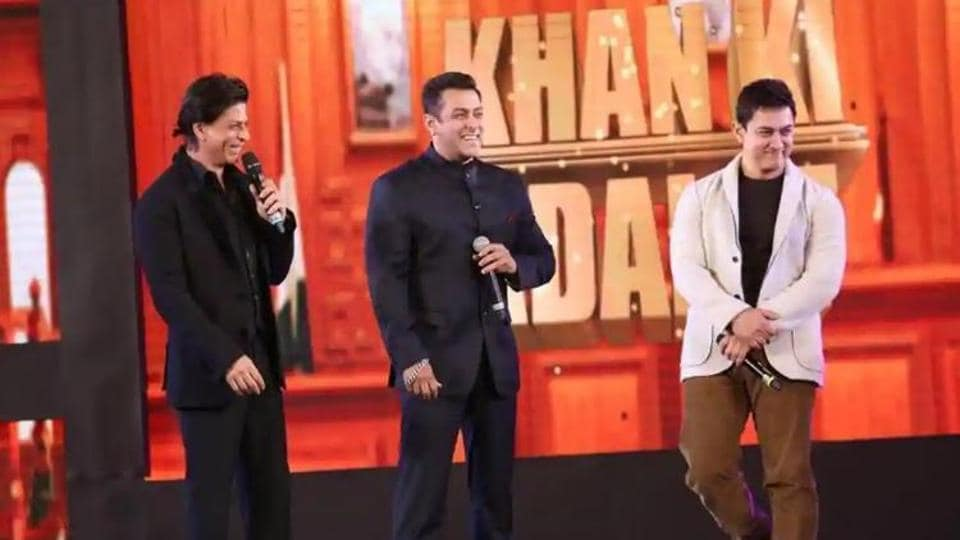 Productions houses of the three Khans -- Shah Rukh, Salman and Aamir -- are also a part of lawsuit against the two channels.