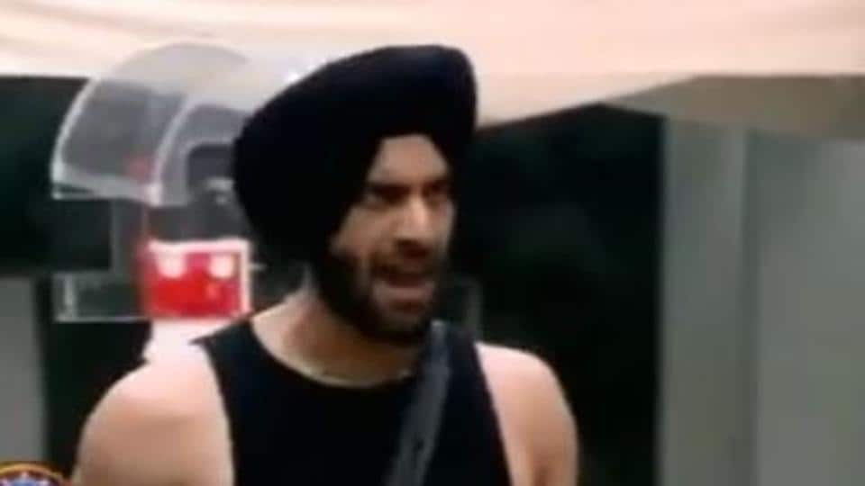 Bigg Boss 14 October 14 day 11 promo: Shehzad Deol in a screengrab from the promo.