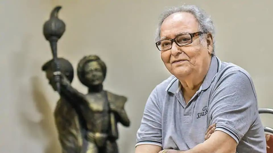 Soumitra Chatterjee is still not completely well.