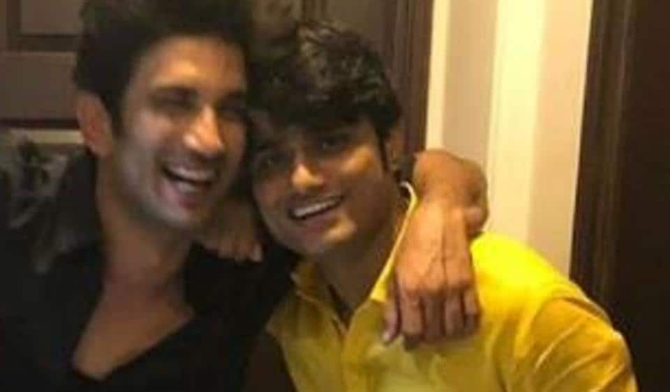 Sandip Ssingh and Sushant Singh Rajput in happier times.