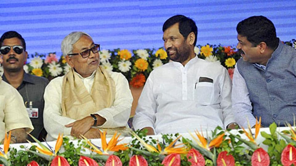 Paswan was also less deferential to Nitish Kumar because of the latter's relatively smaller Kurmi social base, than he was to Lalu Prasad, whose Muslim-Yadav constituency was formidable