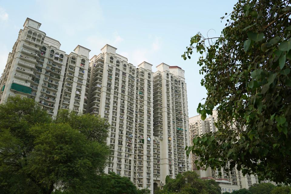 Where the RWAs rule:A housing complex in Delhi NCR.
