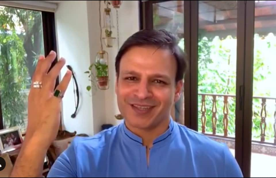 Vivek Oberoi's house in Mumbai was searched by the Bengaluru Police on Thursday.