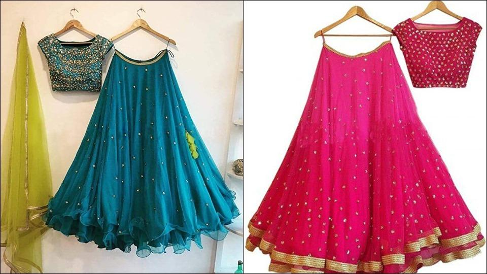 Check out these vibrant lehenga-choli sets to glam up your ethnic wear this festive season