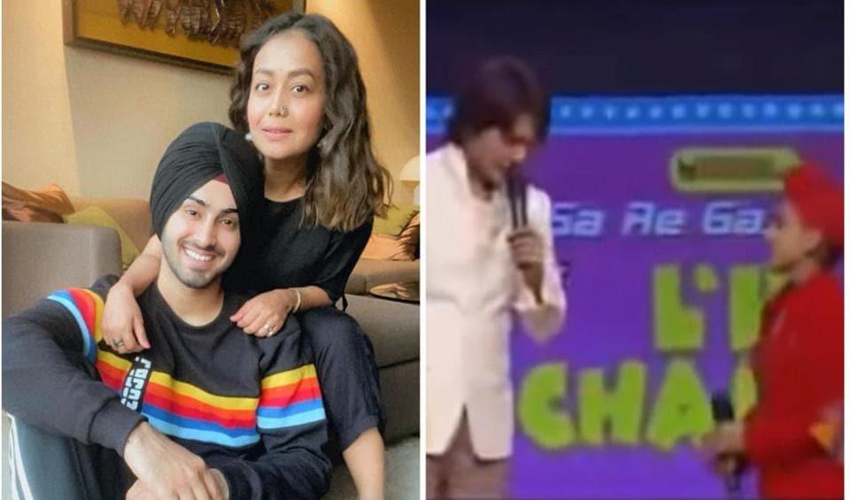 Rohanpreet Singh was a child contestant on Sa Re Ga Ma Pa Lil Champs hosted by Aditya Narayan.