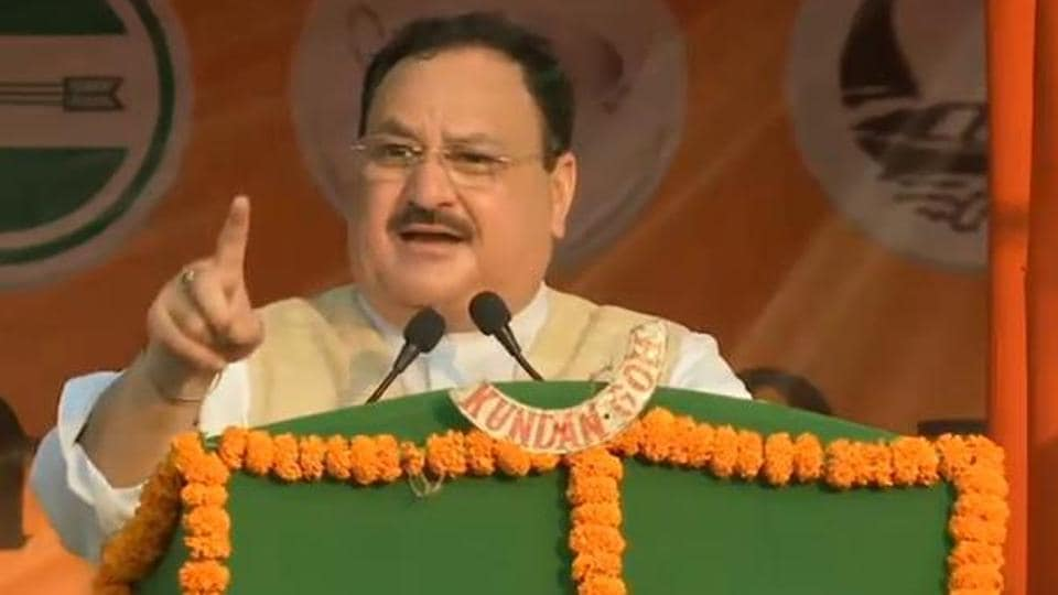 The theme of self reliance has been a recurring feature in speeches made by senior leaders. Party president JP Nadda described the call for self reliance as a means of using the state's inherent strengths. (Photo@BJP4Bihar)