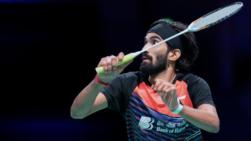 Badminton - Denmark Open - Odense Sports Park, Odense, Denmark - India's Kidambi Srikanth in action