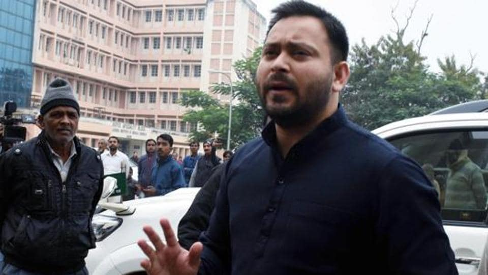 Tejashwi Prasad is again taking on Bharatiya Janata Party (BJP) candidate Satish Kumar in a straight fight in Raghopur, which is largely a Yadav-dominated constituency and situated along the banks of the Ganga across Patna