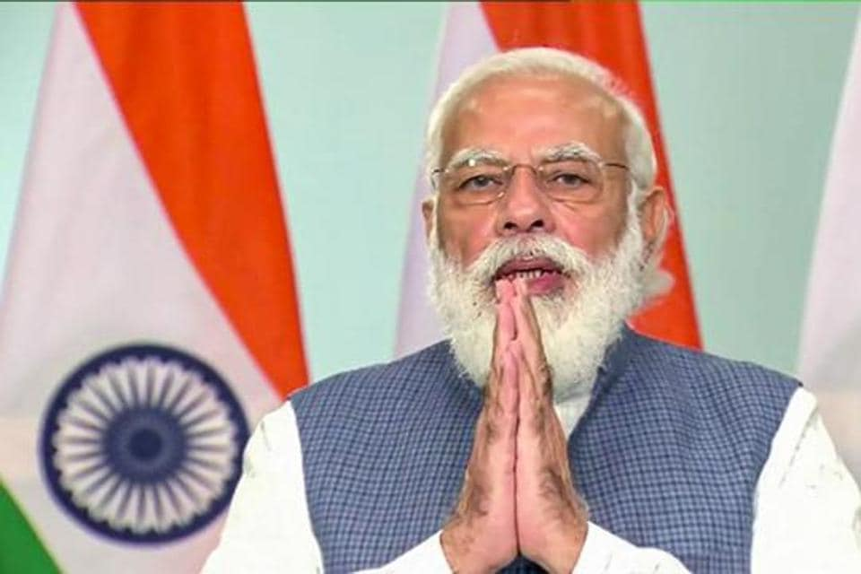 Prime Minister Narendra Modi is seen in this file photo. PM Modi on Saturday wished people on the first day of the nine-day festival of Navratri.