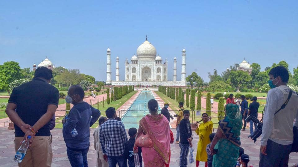 Taj Mahal is among the Seven Wonders of the world.
