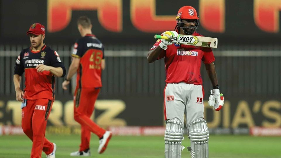 Chris Gayle scored his first fifty in IPL.