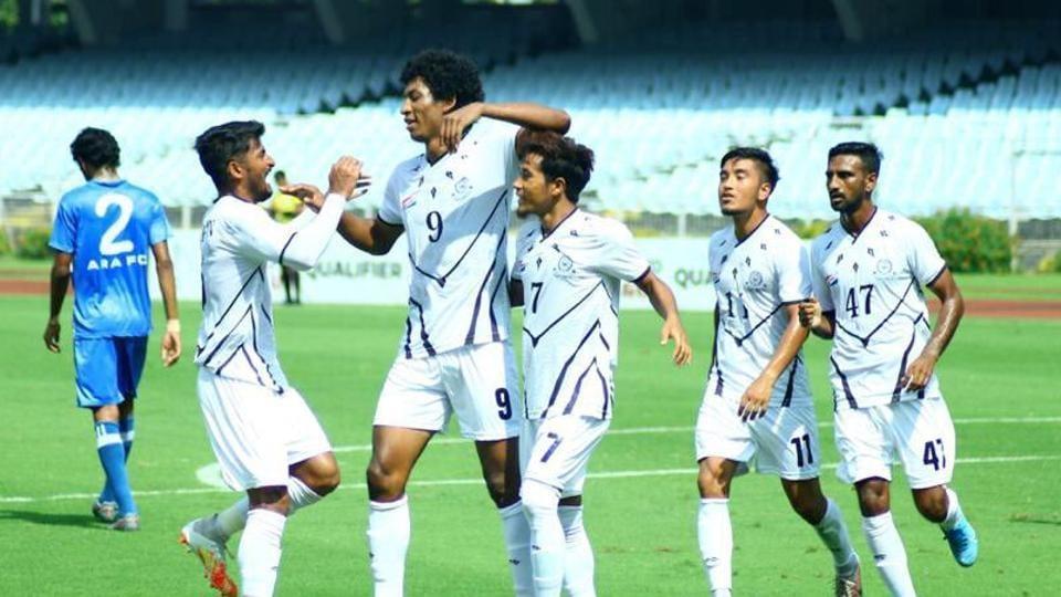 Mohammedan Sporting players