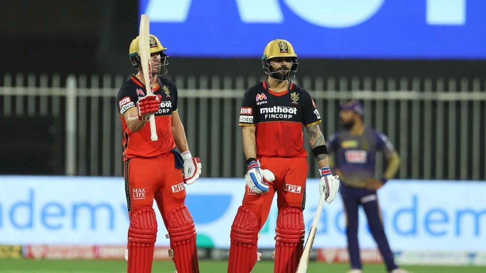 RCB's AB de Villiers with Virat Kohli.