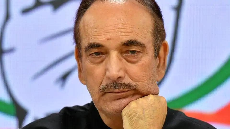 Congress leader Ghulam Nabi Azad tests positive for Covid-19, goes into home quarantine - Hindustan Times
