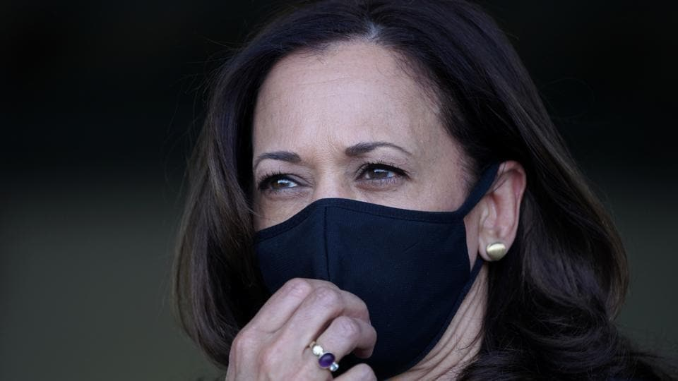 Harris and Biden spent several hours together on Oct. 8 through multiple campaign stops, they were masked at all times in public, and aides said they were masked in private, as well, including on all flights.