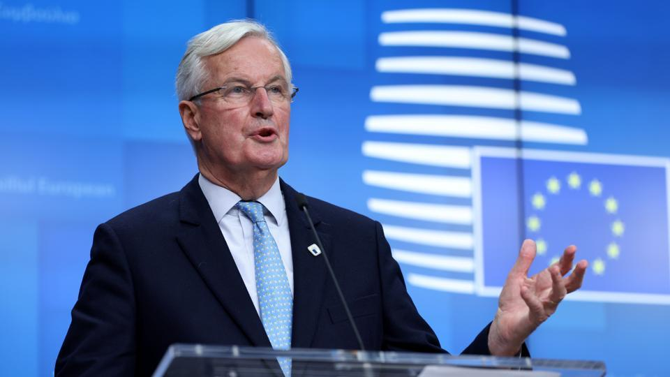"""European Union chief negotiator Michel Barnier said """"the negotiations aren't over,"""" adding that his team would be London-bound for more talks next week and planned to host negotiations in Brussels the week after that."""