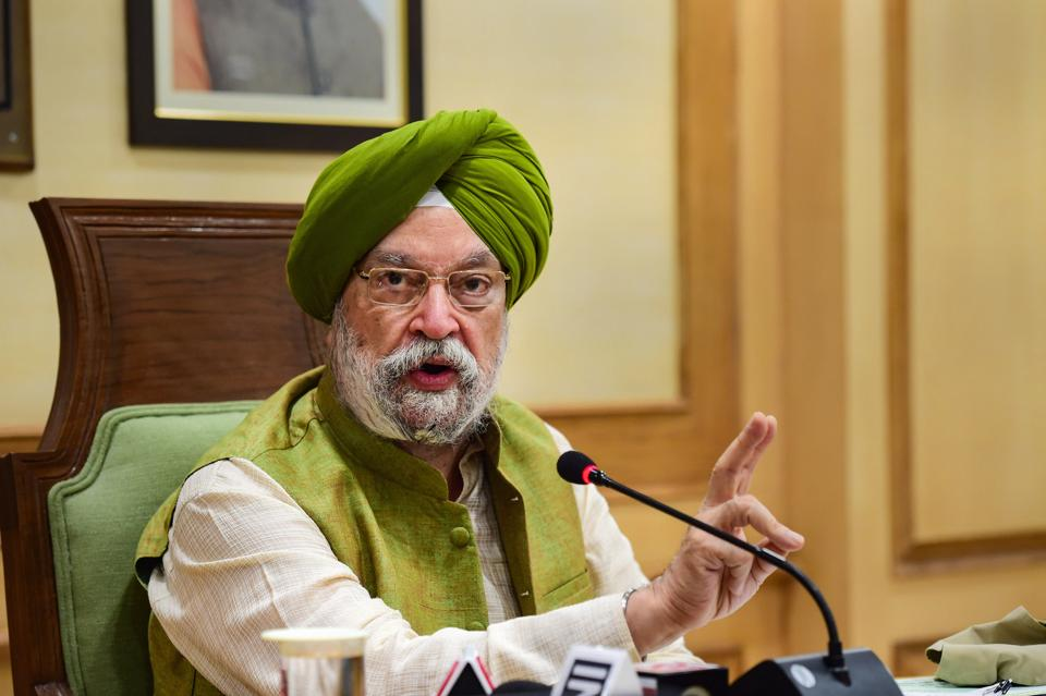 Union minister Hardeep Singh Puri recenly said foreign airlines' flights will not be allowed at expense of Indian airlines.
