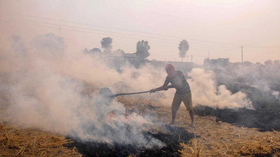 Scientists said the impact of stubble fires on Delhi's pollution levels is dynamic and hence it is impossible to zero in on their total contribution.