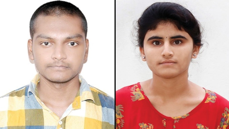 G Abhilash secured 168 All India rank in SC category and Dejavath Girija a tribal girl from a remote hamlet from Wanaparthy district, secured All India rank of 85 in the ST category.