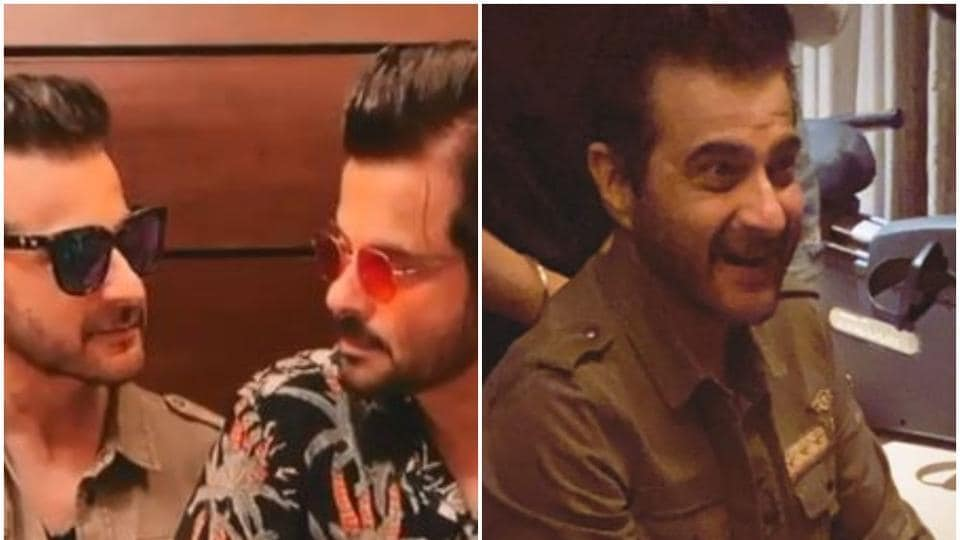 Sanjay Kapoor celebrated his birthday with family.