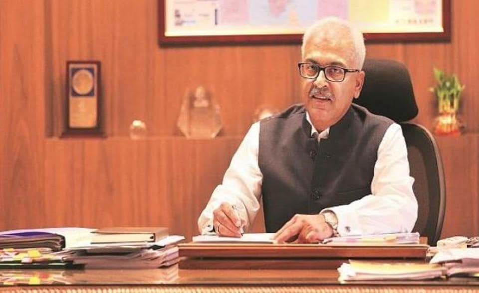Home secretary Ajay Bhalla's tenure has been extended till August 2021. ( Photo: DD News Twitter)