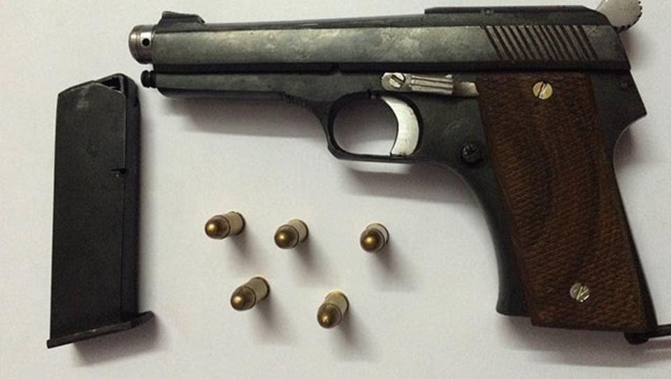Locally made illegal guns, or 'desi kattas'. (HT photo)