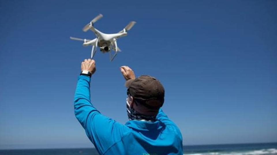 The medical drone delivery service founded by trainee doctors aims to transport coronavirus samples, test kits and protective equipment between hospitals.