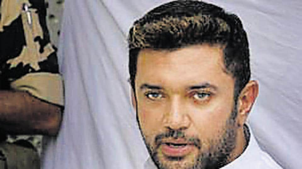 File photo: Lok Janshakti Party leader Chirag Paswan.