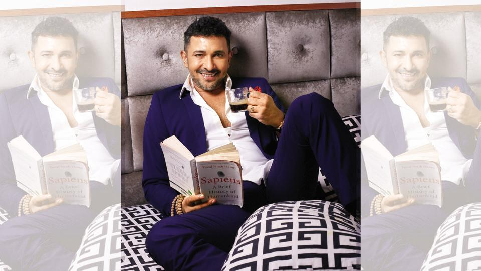 """Perfect idea of breakfast in bed? Me serving it!"" says Terence Lewis"