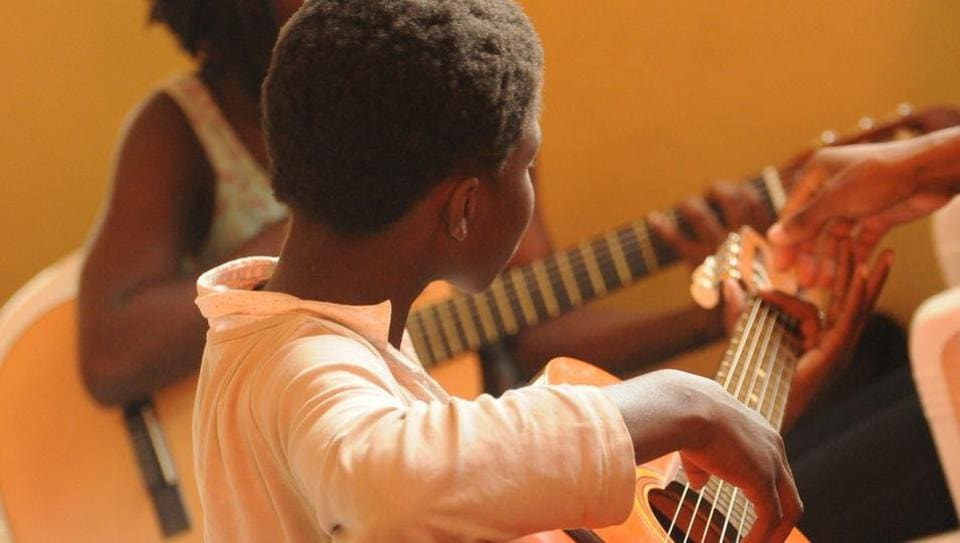 Learning to play an instrument gives kids an opportunity to engage inan artistic pursuit and pursue a hobby they can enjoy alone or with others.