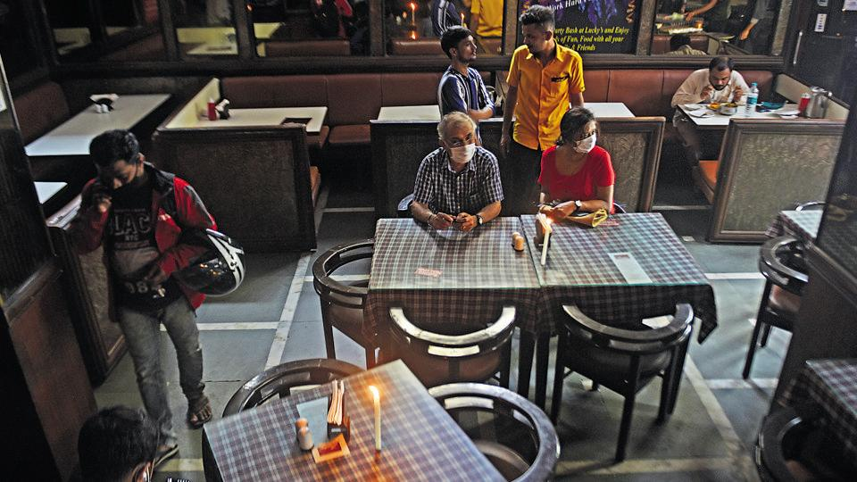 Mumbaikars have returned to restaurants but not in the strength seen before Covid-19 outbreak, says an industry body.