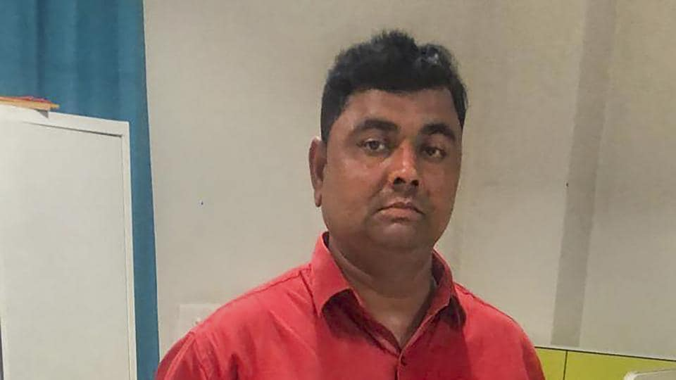 Special Task Force (STF) of UP Police arrested Dhirendra Singh, the main accused of the Ballia incident, in Lucknow.